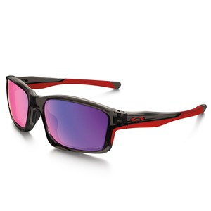 CHAINLINK - GREY SMOKE - RED IRIDIUM POLARIZED