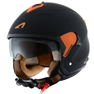 Casque Astone MINIJET TROOPER MONOCOLOR MATT
