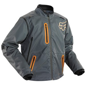Veste enduro Fox LEGION JACKET 2015 GREY/ORANGE
