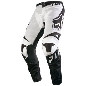 Pantalon cross Fox Déstockage 180 RACE AIRLINE PANT WHITE 2016