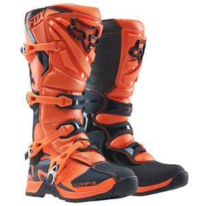 Bottes cross Fox COMP 5 2017 - ORANGE