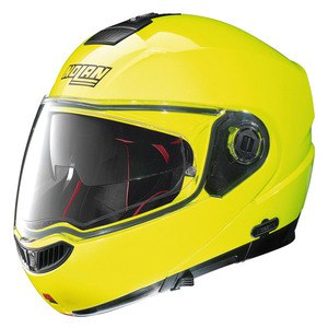 Casque Nolan N104 ABSOLUTE - HI-VISIBILITY N-COM FLUO YELLOW