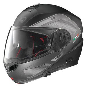 Casque Nolan N104 ABSOLUTE - TECH N-COM FLAT BLACK Flat Black 27