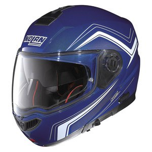 Casque Nolan N104 ABSOLUTE - COMO N-COM Cayman blue 50