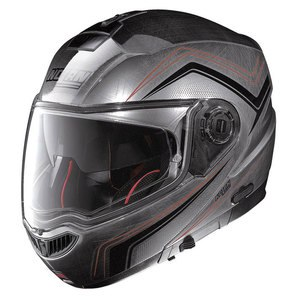 Casque Nolan N104 ABSOLUTE - COMO N-COM CHROME