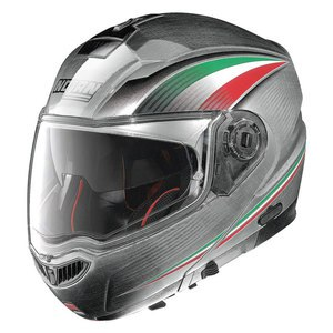 Casque Nolan N104 ABSOLUTE - ITALY N-COM CHROME