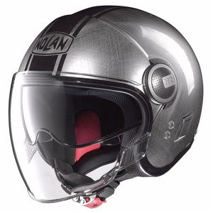 Casque Nolan N21 VISOR - DUETTO SCRATCHED CHROME 27