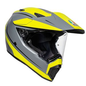 AX9 - PACIFIC ROAD - MATT GREY YELLOW FLUO BLACK
