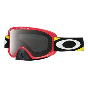 O2 MX  - HERITAGE RACER RED LENS DARK GREY