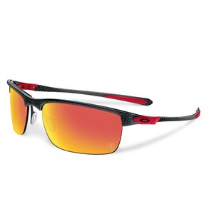Lunettes de soleil Oakley CARBON BLADE - FERRARI COLLECTION - POLISHED CARBON - RUBY IRIDIUM POLARIZED