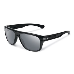 Lunettes de soleil Oakley BREADBOX POLISHED BLACK WARM GREY
