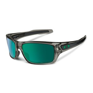Lunettes de soleil Oakley TURBINE GREY SMOKE JADE IRIDIUM POLARIZED