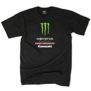 T-shirt manches courtes Monster PRO CIRCUIT TEAM