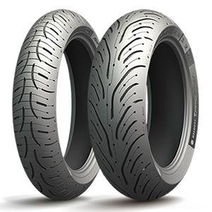 pneumatique michelin pilot road 4 sc 160 60 r 15 67h tl pneus roues. Black Bedroom Furniture Sets. Home Design Ideas