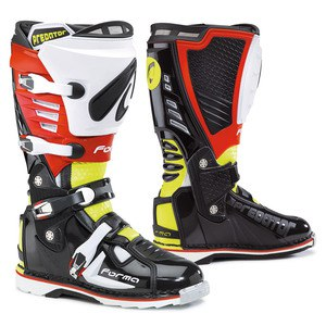 PREDATOR BLACK YELLOW FLUO RED