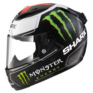 Casque Shark RACE-R PRO REPLICA LORENZO MONSTER MAT Edition Limitée