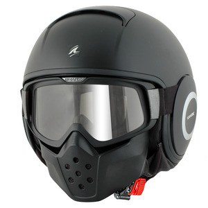 Casque Shark RAW BLANK MAT
