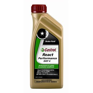 Liquide de frein Castrol REACT PERFORMANCE DOT 4 500 ML