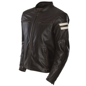equipement motard blouson et veste marron. Black Bedroom Furniture Sets. Home Design Ideas