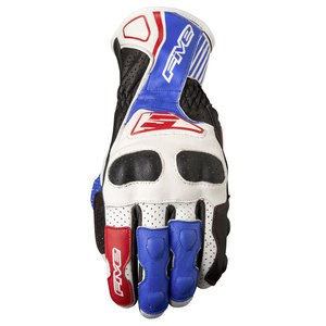 Gants Five RFX4 REPLICA Blanc/Bleu