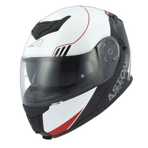 Casque Astone RT 1200 UPLINE Rouge/Blanc