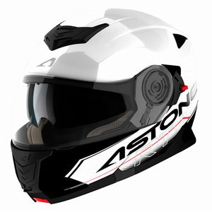 Casque Astone RT 1200 BICOLOR TOURING Blanc/Noir