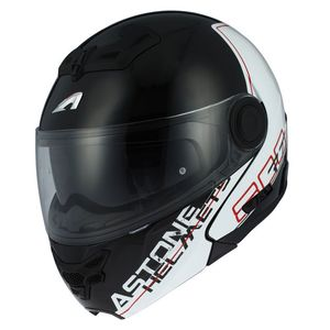 Casque Astone RT 800 LINETEK Rouge/Blanc
