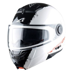 Casque Astone RT 800 STRIPES Blanc
