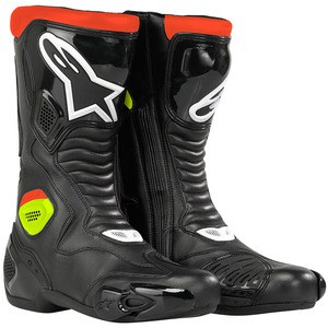 VOTRE équipement complet en photo ! - Page 4 Pres_s_mx_5_waterproof_boot_blk_red_yel_fluo_photoshopped