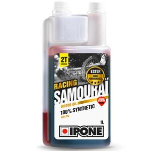Huile moteur Ipone SAMOURAI RACING FRAISE 100% synthése - 1 LITRE - DOSEUR