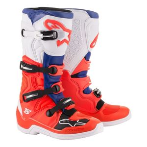 TECH 5 - RED FLUO BLUE WHITE