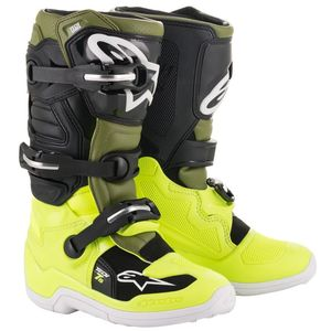 TECH 7S - YELLOW FLUO MILITARY GREEN BLACK