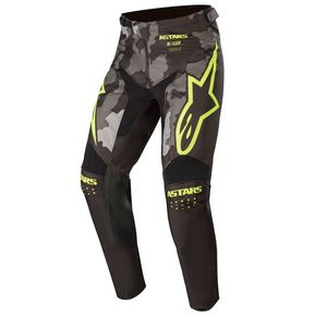 RACER TACTICAL - BLACK GRAY CAMO YELLOW FLUO