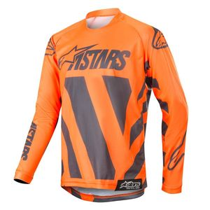 YOUTH RACER BRAAP ANTHRACITE ORANGE FLUO