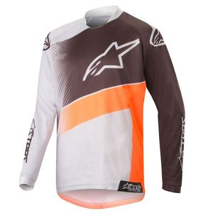 YOUTH RACER SUPERMATIC LIGHT GRAY ORANGE FLUO BLACK