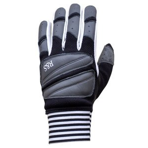 Gants RIDE AND SONS STARWEST Noir/Gris/Blanc
