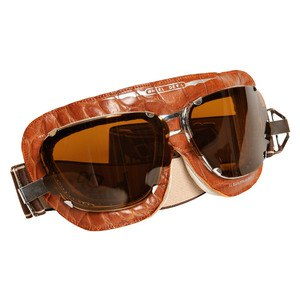 Lunettes moto Baruffaldi SUPERCOMPETITION CROCO MARRON