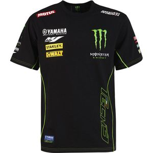 CUSTOM 1 - TECH3 MONSTER ENERGY - BLACK GREEN