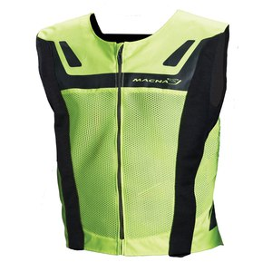 Gilet de protection Macna VISION 4 ALL-S Jaune Fluo