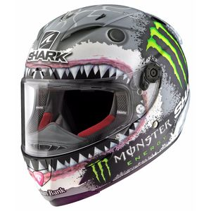 RACE-R PRO -  REPLICA LORENZO MONSTER WHITE SHARK Edition Limitée