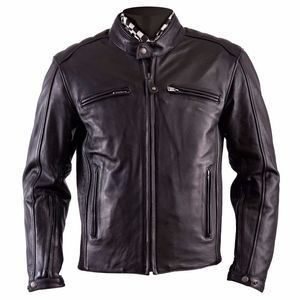 Blouson Helstons WILLIAM II - cuir PLAIN