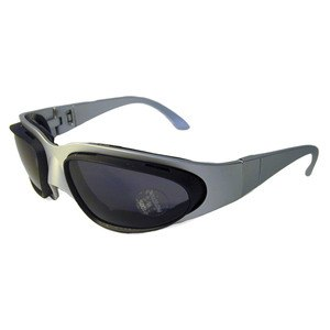 lunettes moto Baruffaldi WIND TINI ARGENT