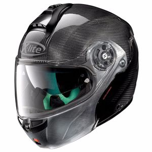 Casque X-lite X-1004 ULTRA CARBON - DYAD SCRATCHED CHROME