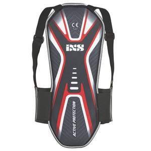 Dorsale IXS CENTER BACK Noir/Argent