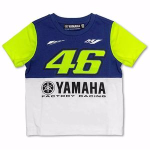 T-shirt manches courtes VR 46 KID ROYAL YAMAHA