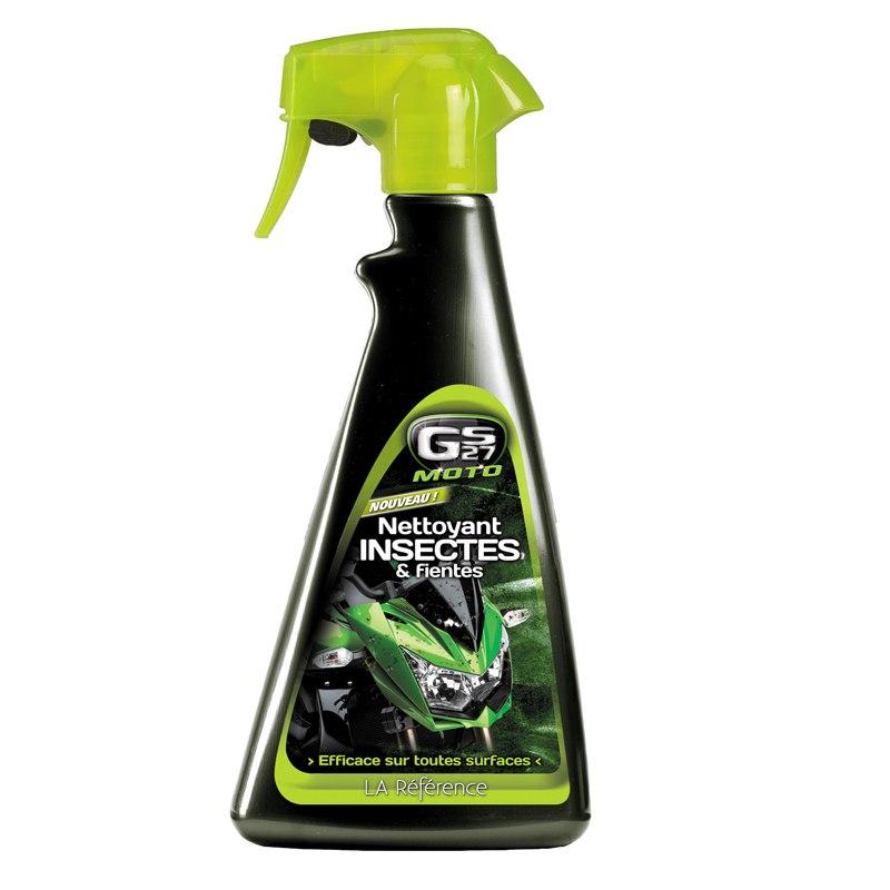 Produit Entretien Gs27 Nettoyant Insectes Et Fientes 500ml