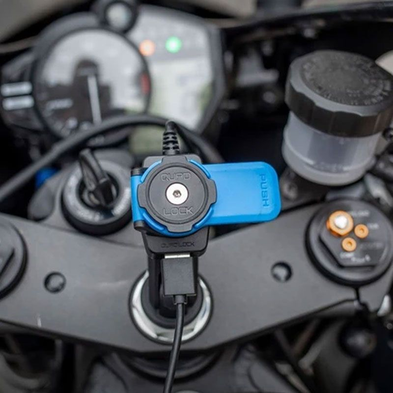 quad lock chargeur induction
