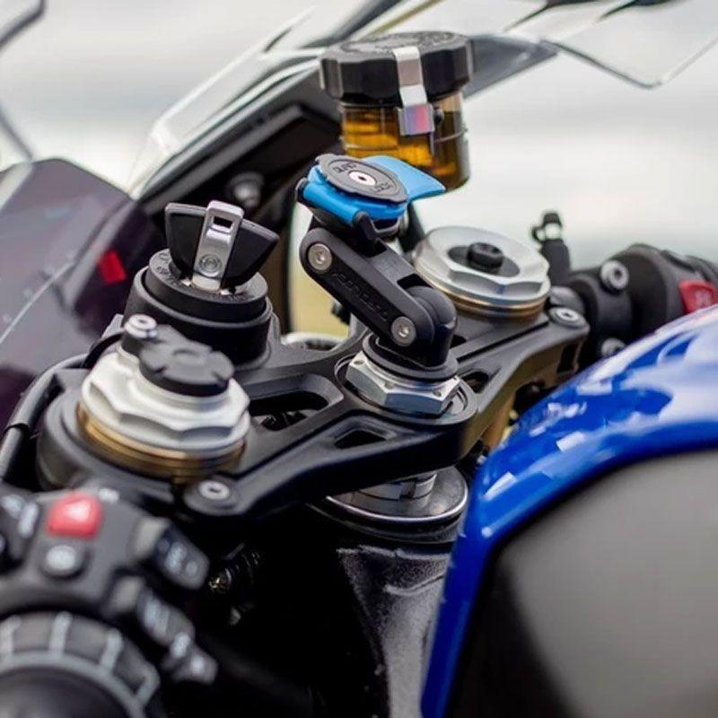 Support Quad Lock tige de fourche pour moto sportive