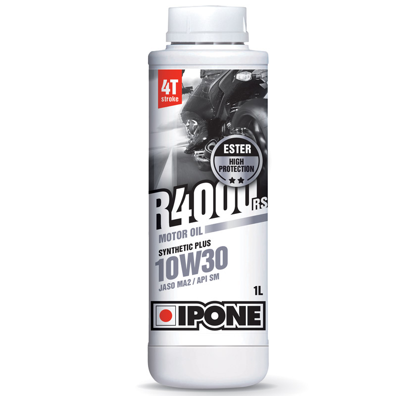 huile moteur ipone r4000rs 10w30 1 litre huile spray entretien. Black Bedroom Furniture Sets. Home Design Ideas