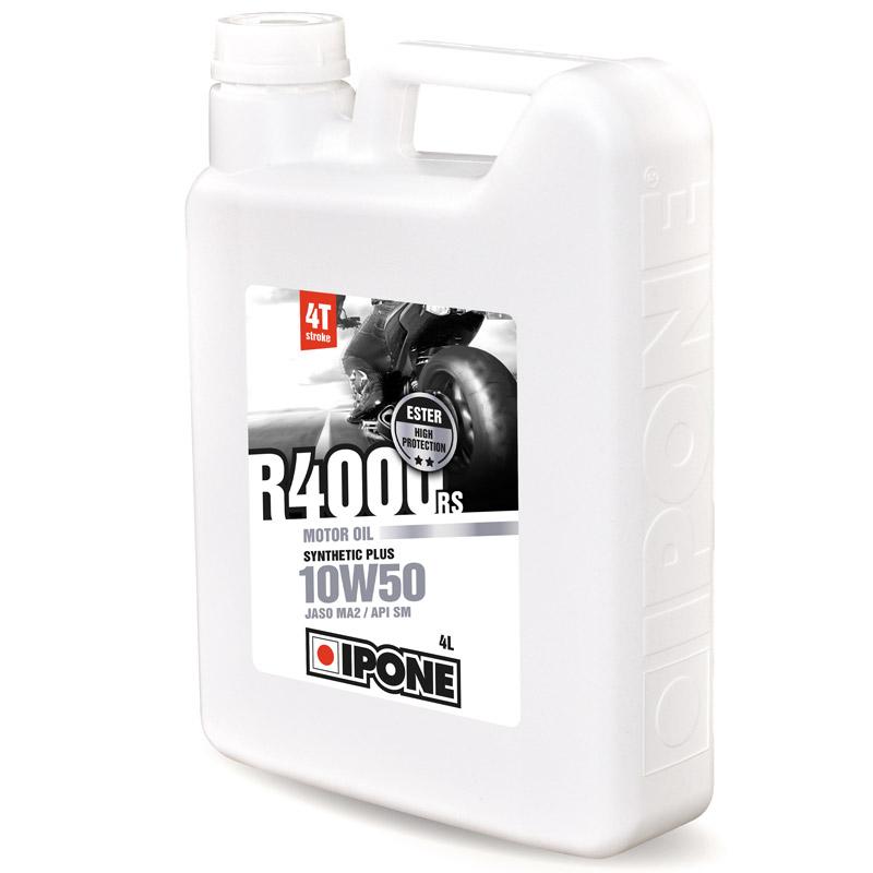 huile moteur ipone r4000 rs 10w50 4 litres huiles lubrifiants. Black Bedroom Furniture Sets. Home Design Ideas